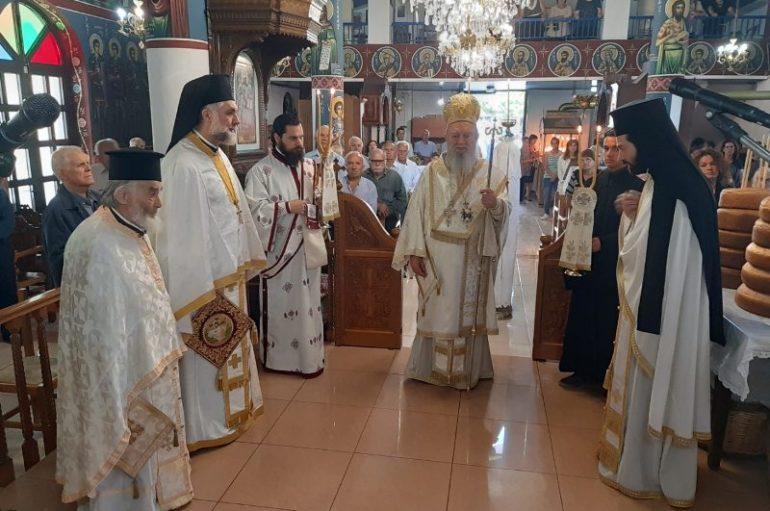 Ο εορτασμός του Αγίου Πνεύματος στην Ι. Μ. Χαλκίδος