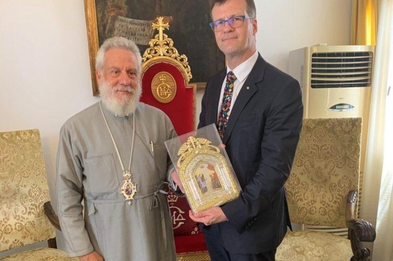 Στο Ίδρυμα Ευαγγελιστρίας Τήνου ο Πρέσβης του Καναδά