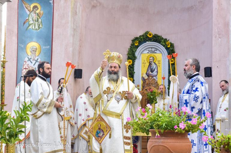 Η εορτή των Πρωτοκορυφαίων Αποστόλων Πέτρου και Παύλου στην Ι. Μ. Λαγκαδά