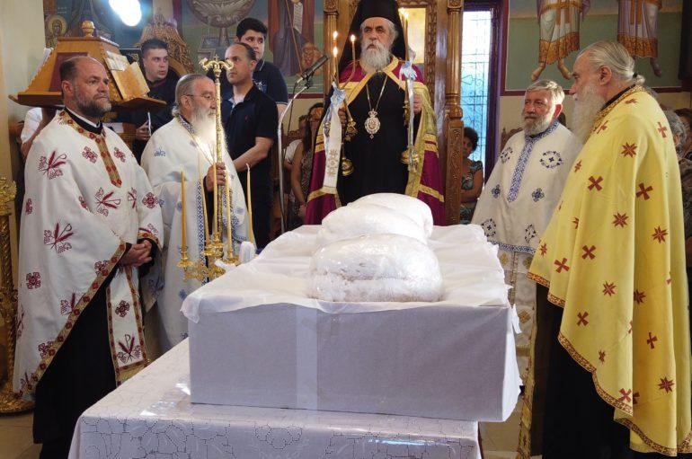 H εορτή των Αγίων Πάντων στο Α' Κοιμητήριο Πύργου