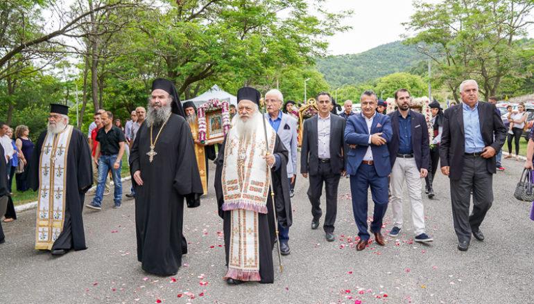 Η Θαυματουργός Εικόνα της Παναγίας Σουμελά στη Ι. Μ. Αγ. Ιωάννου Βαζελώνος