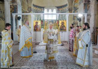 Κυριακή της Πεντηκοστής στον Παλαιό Μητροπολιτικό Ναό της Βεροίας