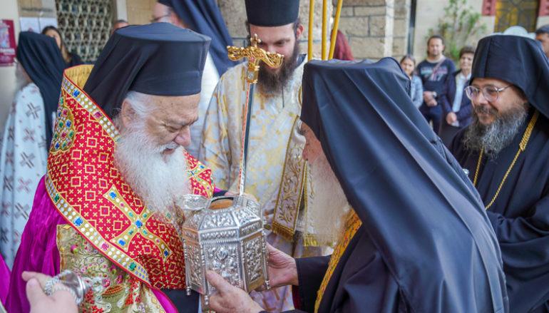 Tην Τιμία Κάρα του Αγίου Παντελεήμονος υποδέχτηκε η Βέροια