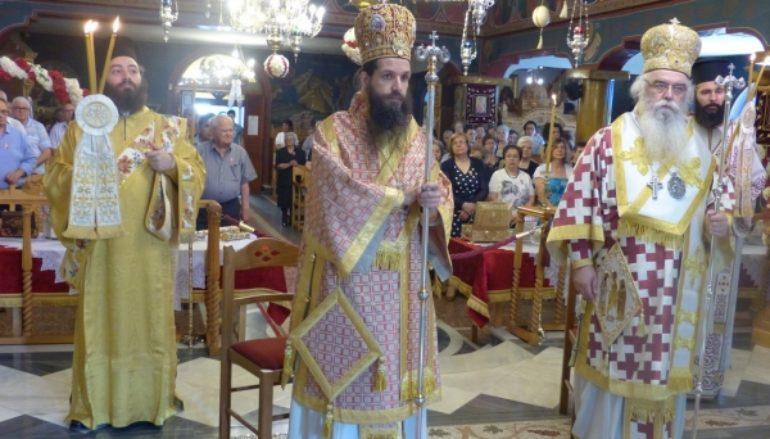 Αρχιερατικό συλλείτουργο στον Ι. Ναό Αγίων Πάντων Καστοριάς