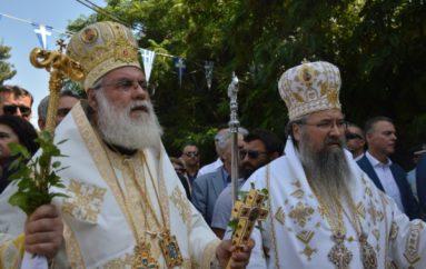 Λαμπρός ο εορτασμός της Παναγίας Φανερωμένης στη Λευκάδα