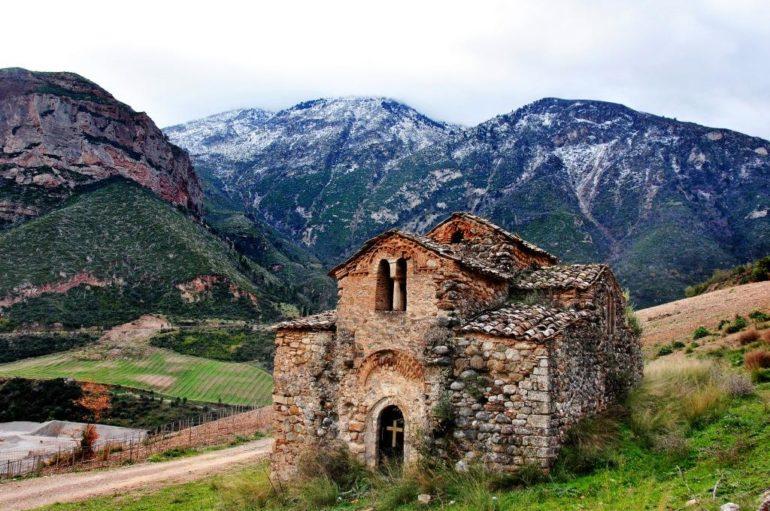 Εργασίες αναστήλωσης του Βυζαντινού Ναού Αγίου Νικολάου Ταξιαρχών Αιγιαλείας