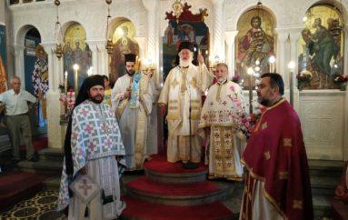 Αρχιερατική Θεία Λειτουργία στη Γαρίπα Μονοφατσίου Κρήτης