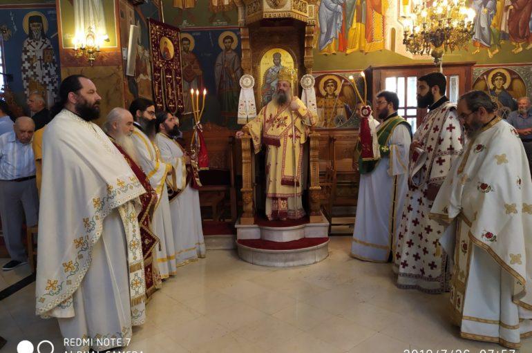 Η εορτή της Αγίας Παρασκευής στην Ι. Μ. Πατρών