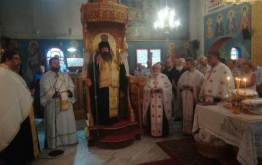 Η μνήμη του Αγίου Παντελεήμονος στη Ι. Μητρόπολη Κορίνθου