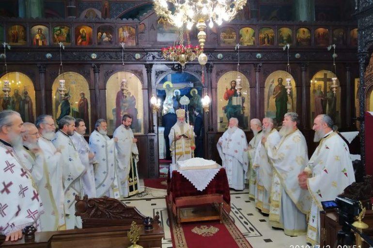 Θεία Λειτουργία του Πανελ. Συνδέσμου Ιεροδιδασκάλων στα Γρεβενά