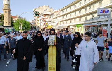 Την Κάρα του Αγίου Νικάνορος υποδέχθηκαν τα Γρεβενά