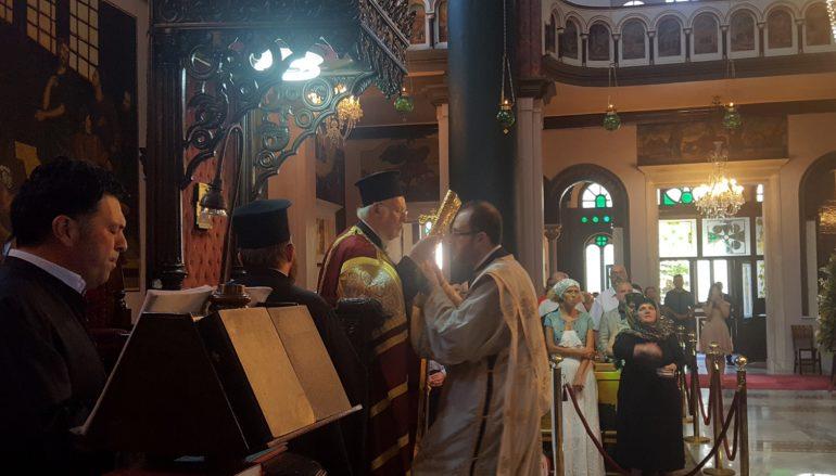 Ο Οικ. Πατριάρχης στην Αγία Κυριακή Κοντοσκαλίου