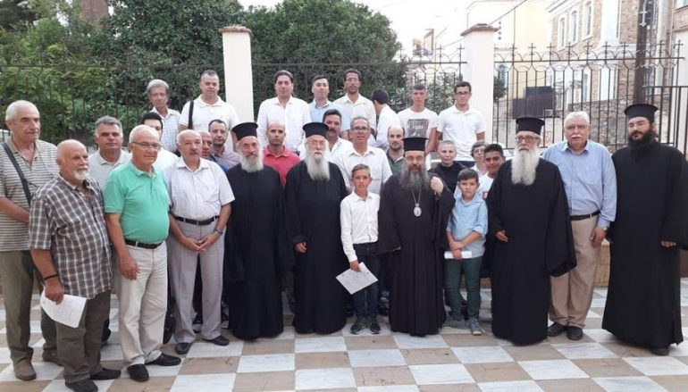 Ο Μητροπολίτης Χίου στην απονομή ενδεικτικών της Σχολής Βυζαντινής Μουσικής