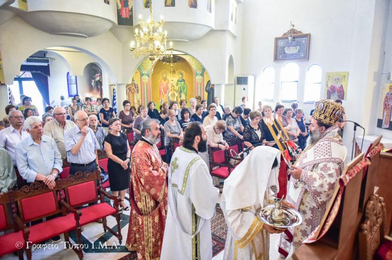 Εορτή ανακομιδής Λειψάνων των Αγίων Ραφαήλ, Νικολάου και Ειρήνης στην Ι. Μ. Λαγκαδά