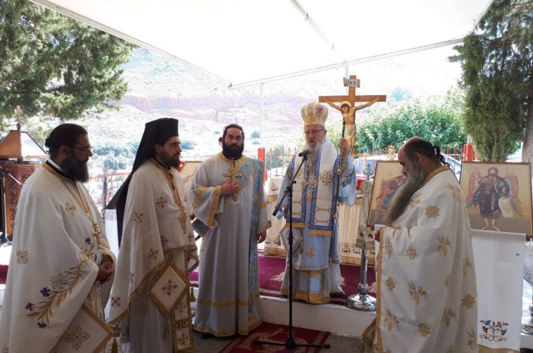 Η Εορτή του Αγίου Βλασίου του Ακαρνάνος στον τόπο μαρτυρίου του