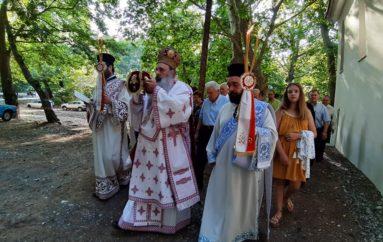 Εγκαίνια Ιερού Ναού από τον Μητροπολίτη Σταγών Θεόκλητο