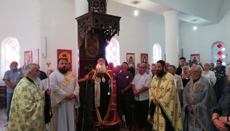 Πανηγύρισε η Ι. Μονή Οσίου Σεραφείμ του Σάρωφ Πορταριάς