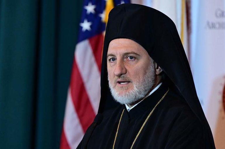 Συγχαρητήρια Αρχιεπισκόπου Αμερικής Ελπιδοφόρου στον Κυριάκο Μητσοτάκη