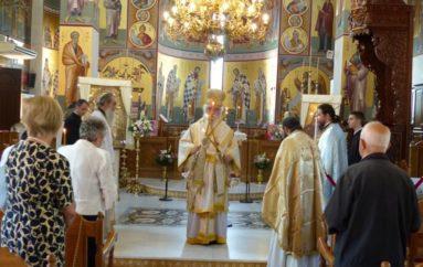 Σύναξη της Παναγίας της Τριχερούσας στον Άγιο Νικάνορα Καστοριάς