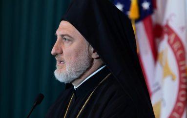 """Αρχιεπίσκοπος Αμερικής: """"Θλιβερή αδικία η εισβολή του τουρκικού στρατού στην Κύπρο"""""""