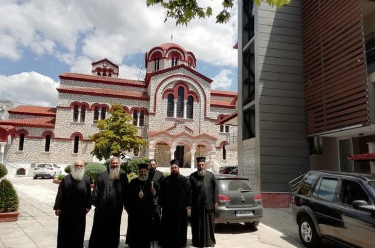 Επισκέψεις του Μητροπολίτου Μάνης σε Έδεσσα, Πέλλα, Γιαννιτσά