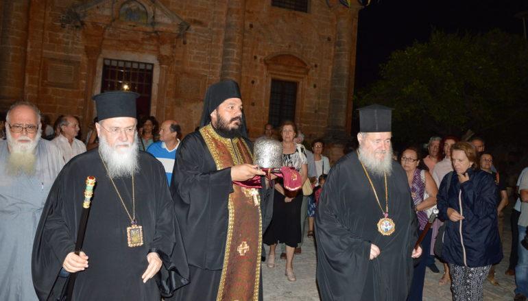 Αναχώρησε η Τιμία Κάρα της Αγίας Υπομονής από την Κρήτη