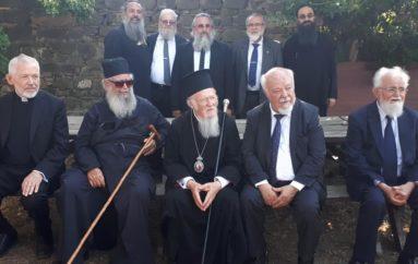 Ο Οικ. Πατριάρχης στην Ι. Μητρόπολη Γάνου και Χώρας