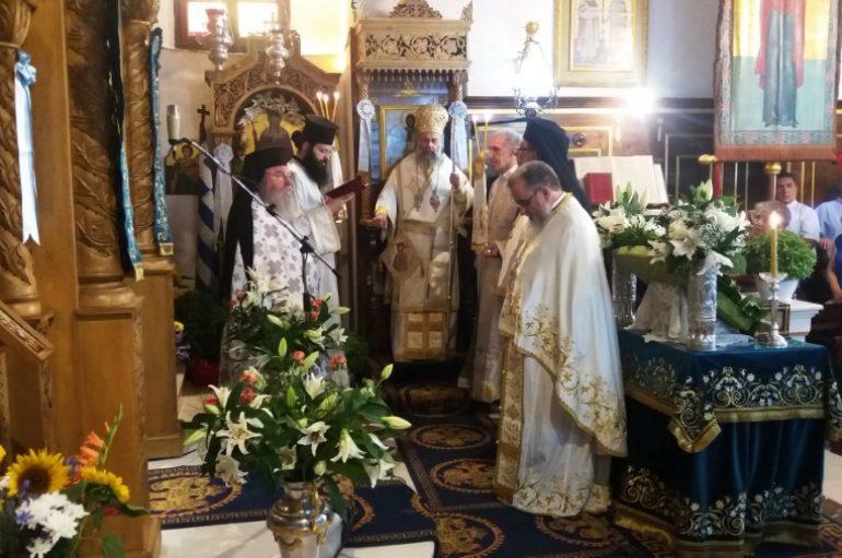 Εορτή της Αγίας Κυριακής στην Ι. Μητρόπολη Κερκύρας