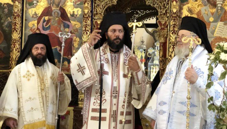Τρισαρχιερατική Θ. Λειτουργία στην Ι. Μονή Αγίας Τριάδος Τζαγκαρόλων