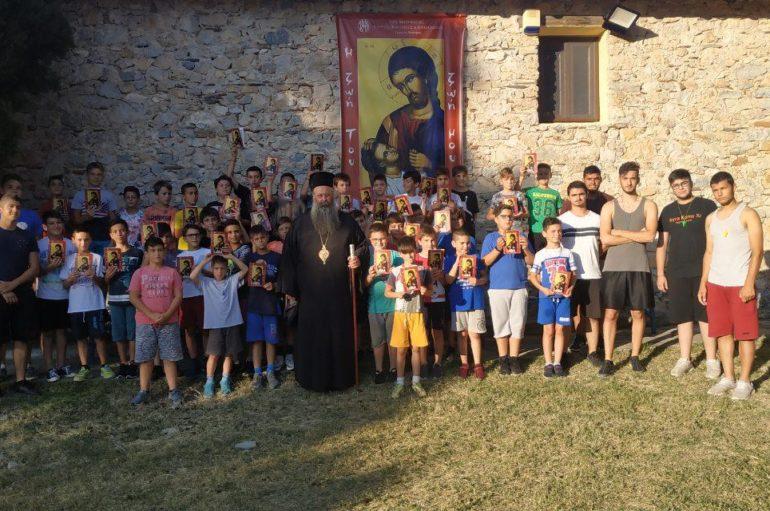 Ξεκίνησε η φιλοξενία παιδιών στο Μοναστήρι Αγίου Γεωργίου Ρητίνης