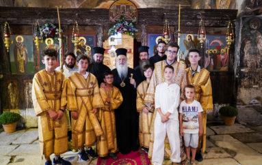Εορτή του Αγίου Μεγαλομάρτυρος Προκοπίου στη Βέροια