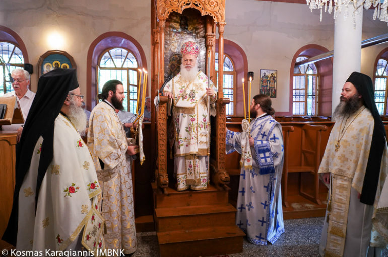 Εορτή των Οσίων Διονυσίου του Ρήτορος και Μητροφάνους στην Ι. Μ. Βεροίας