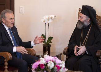 Επιστολή του Προέδρου της Κυπριακής Δημοκρατίας στον Αρχιεπίσκοπο Αυστραλίας