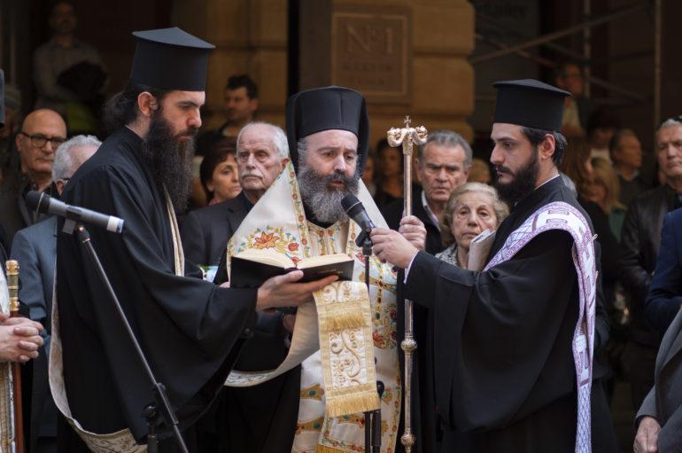 """Αρχιεπίσκοπος Αυστραλίας: """"Μην ξεχνάτε την Κύπρο μας"""""""