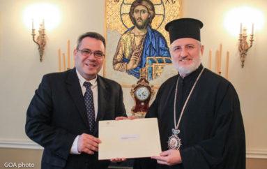 Συγχαρητήρια Επιστολή του Προέδρου της Κύπρου στον Αρχιεπίσκοπο Αμερικής