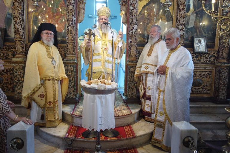 Εορτασμός της Αγίας Κυριακής στην Ι. Μητρόπολη Ηλείας