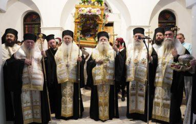 Η Νάξος πανηγύρισε τον Πολιούχο της Άγιο Νικόδημο τον Αγιορείτη