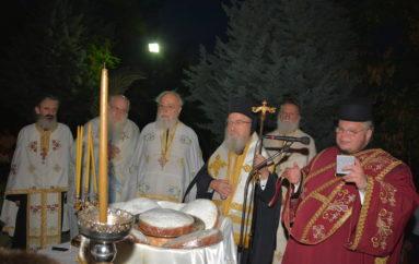 Αρχιερατικός Εσπερινός της Αγίας Παρασκευής στο Αγρίνιο