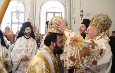 Η Χειροτονία του νέου Επισκόπου Ευδοκιάδος από τον Οικ. Πατριάρχη