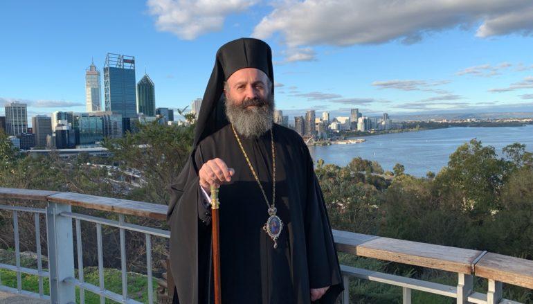 Ο Αρχιεπίσκοπος Αυστραλίας Μακάριος στην Πέρθη