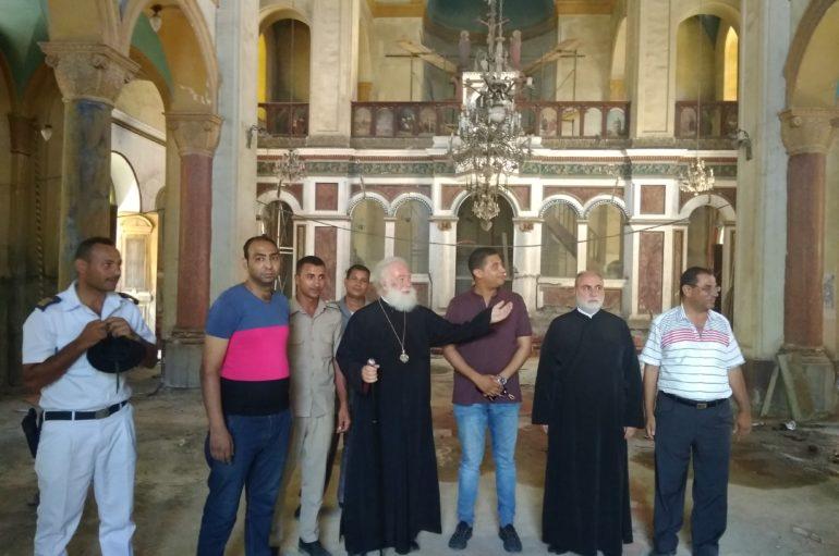 Ανακαίνιση του Ι. Ναού της Αγίας Αικατερίνης στο Σουέζ της Αιγύπτου