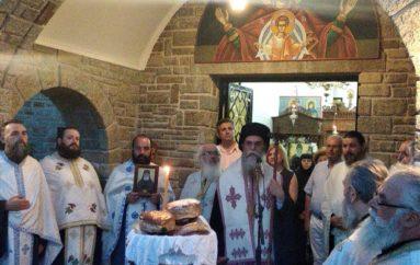 Εσπερινός του Αγίου Παϊσίου στην Ι. Μονή Θεοτοκιού Άρτης