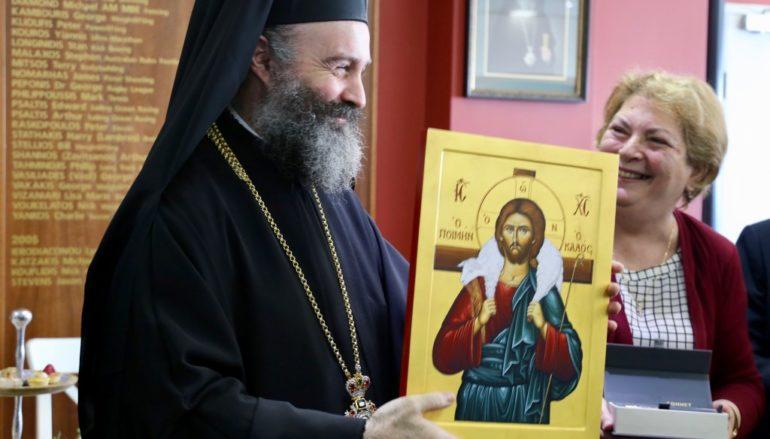 Ο Αρχιεπίσκοπος Αυστραλίας στο Ελληνικό Κέντρο Προνοίας Σίδνεϋ