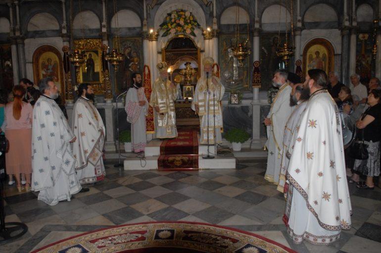 Η Χαλκίδα εόρτασε την Πολιούχο της Αγία Παρασκευή