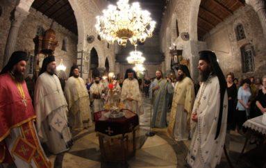 Προεόρτιος Αγρυπνία για την Πολιούχο Χαλκίδος Αγ. Παρασκευή