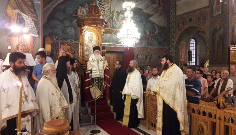 Η εορτή του Οσίου Παϊσίου στην Ι. Μ. Δημητριάδος