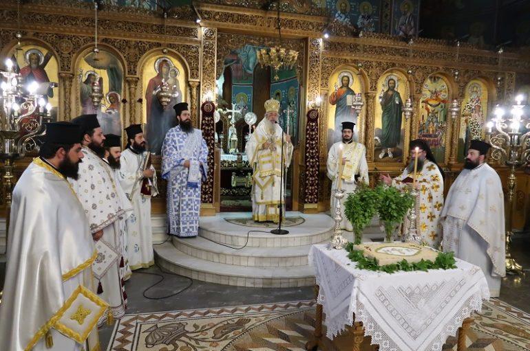 Εορτή του Αγίου Παϊσίου και Χειροτονία Πρεσβυτέρου στη Λαμία