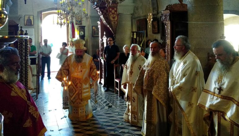 Πανηγύρισε η Ι. Μονή Προφήτου Ηλιού Ηλιού Ρουστίκων Ρεθύμνου