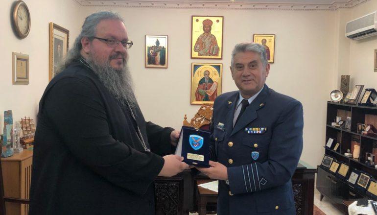 Ο νέος Διοικητής της ΔΑΚ στον Μητροπολίτη Λαρίσης