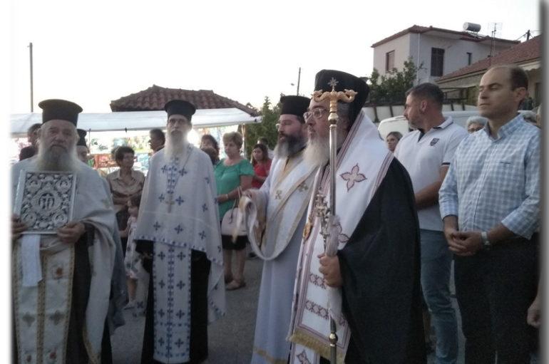 Η εορτή Καταθέσεως της Τιμίας Εσθήτος στην Ι. Μ. Πρεβέζης